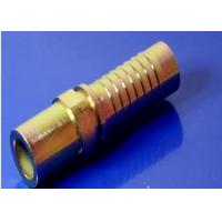 Quality Standpipe Straight Metric Hydraulic Fittings Brass With Zinc Plating for sale