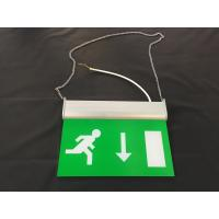 Wholesale 3 Hours Operation Rechargeable LED Double Side Emergency Exit Sign from china suppliers
