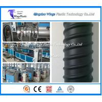 Wholesale Plastic Prestressed Spiral Corrugated Pipe Machine / Production Line For Sale In China from china suppliers