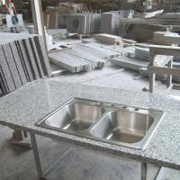 Wholesale High Density Stone Slab Countertop G603 Kitchen Granite Countertops Cost from china suppliers