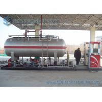 Wholesale Lpg Tank Trailer Truck 20000l Lpg Skid Gas Tanker 10tons Lpg Skid Filling Station from china suppliers