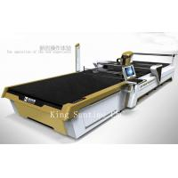 Wholesale Straight Knife Auto Fabric Cutter Textile Cutting Machine 7 KPS Air Pressure from china suppliers