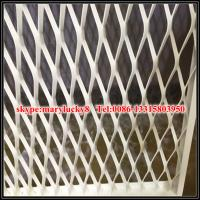 Wholesale aesthetic Balustrading Expanded Metal aluminum mesh from china suppliers
