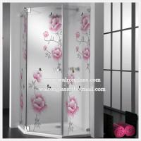 Wholesale Polished Edges Tempered Glass for Shower Room Enclosure from china suppliers