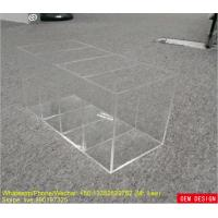 Wholesale Storage Lattice Custom Acrylic Products Perspex Box Without Lid from china suppliers