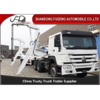 Wholesale 40ft Side Loader Trailer Loading Capacity 40 Tons FUWA 13 Ton Axle from china suppliers