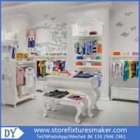 Wholesale Matte lacquer Kids Shop Interior Design - Popular Kids Clothing Stores with customized logo from china suppliers