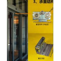 Quality Commercial 420cm rail,600rail  Automatic Glass Sliding Doors with CE certification for sale