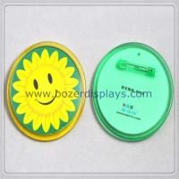 Buy cheap Modern Custom Badge Holder with Safety Pin from wholesalers