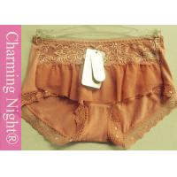 Wholesale Mid Rise Regular Hipster Womens Underwear Shorts lace trim hipster panty from china suppliers