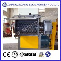 Wholesale 30KW  Wrapping plastic shredder machine Single Shaft , used plastic crusher from china suppliers