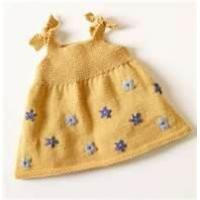 Wholesale OEM Polyester Combo knitted fabric 2 - 8Y yellow baby party dresses For Infant, Toddler from china suppliers