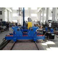 Quality Hydrulic Fit Up Welding Rotator , Pipe Stand Rollers , Auto Welding Steel Pipe Rollers for sale