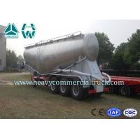 Wholesale Aluminum Alloy Bulk Cement Tanker Trailer With WABCO ABS Braking System from china suppliers