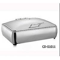 Wholesale 800W Electric Commercial Chafing Dishes Food Warmer Cart 49.5 X 47 X 41.5 CM from china suppliers