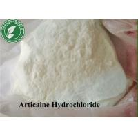 Wholesale Topical Anesthetic Powder Articaine Hydrochloride For Pain Killer CAS 23964-57-0 from china suppliers