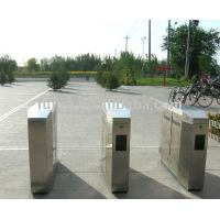 Wholesale Intelligent retractable Dual-core flap barrier gate from china suppliers