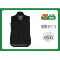 Wholesale Windbreak Outdoor Travel Vest Black Color For Shooting / Hunting from china suppliers