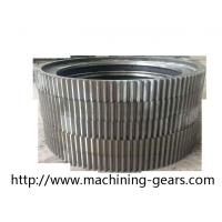 Wholesale Cylindrical Large Diameter Gears Aluminium Alloys Ring External Spur Gear from china suppliers