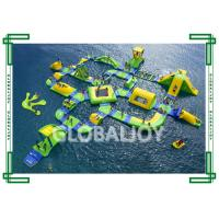 Wholesale PVC Tarpaulin Inflatable Water Parks Floating Playgrounds Promotional from china suppliers