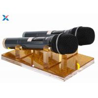 Wholesale Durable Acrylic Display Rack Clear Acrylic Microphone Display Hold For KTV Nightclub from china suppliers