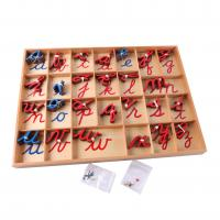 Wholesale Montessri Materials-- Small Cursive Moveable Alphabet from china suppliers
