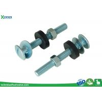 Wholesale Zinc Plated Toilet Tank To Bowl Bolts / Toilet Fixing Bolts Slot Headed from china suppliers