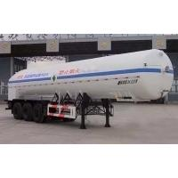 Wholesale 24000L-3 axles-Cryogenic Liquid Lorry Tanker for Liquid Oxygen from china suppliers