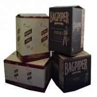 Wholesale Black Printed Cardboard Boxes , Recycled Gift Boxes Foil Stamping Finish from china suppliers