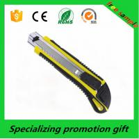 Wholesale OEM Plastic ABS 18mm Mini Stainless Steel Blade Paper Utility Cutter Knife from china suppliers