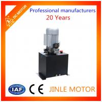 Wholesale Car Lifting Hydraulic Power Unit 1400rpm  / 220V Hydraulic Power Pack from china suppliers