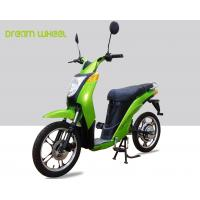 Wholesale 2 Wheels Pedal Assist Electric Bike , Electric Motor Assisted Bicycle 25-32km / H Speed from china suppliers