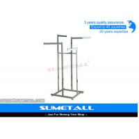 Wholesale Metal Shop Display Fittings / Commercial Grade Garment Rack For Clothes Hanging from china suppliers