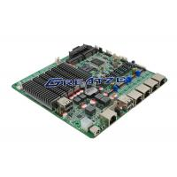 Wholesale Quad LAN Gigabit Fanless Motherboard J1900 Processor / pf Sense Motherboard from china suppliers