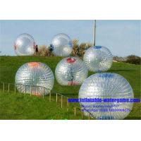 Wholesale 3X2M Transparent Inflatable Zorb Ball 2 Pcs Harness Environmental Protection from china suppliers
