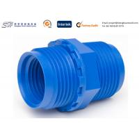 Wholesale Bule Color Internal And External Threads Products Made By Injection Moulding from china suppliers