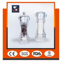 Wholesale Acrylic transparent GK-S12CT pepper mill & ceramic core & sea salt & pepper mill grinding from china suppliers