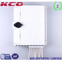Quality Custom 12 Cores 1x8 Splitter Fiber Optic Terminal Box KCO-FDB-12D for sale