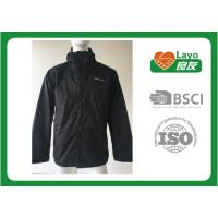Wholesale Breathable Outdoor Softshell Jacket Blue Color OEM / ODM Black Softshell Jacket from china suppliers