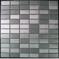 Wholesale 23x48mm Washable Metal Mosaic Tiles, Stainless Steel Mosaic Wall Tiles from china suppliers