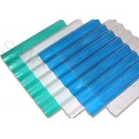 Wholesale 2 / 25 Inch Thickness FRP Translucent Roofing Sheets , Good Tensile Strength from china suppliers