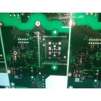 Buy cheap FR-4 ITEQ 1.50-1.60mm Thick Double Sided PCB 1oz Copper Green Solder Mask from wholesalers