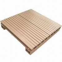 Wholesale WPC decking, various designs are available from china suppliers