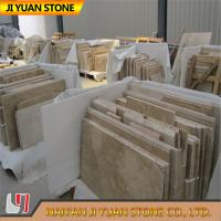 Wholesale Beige Yellow Travertine Tiles French Pattern 2.7g/Cm3 Polished from china suppliers