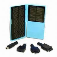Wholesale Solar Charger with Maximum Operating Voltage of 5.2V and 500mA, Used for Mobile Phones, PSP, and PDA from china suppliers