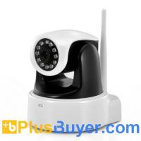 Wholesale Wireless HD PTZ IP Camera (1280x720, IR Cut Nightvision, H.264) from china suppliers