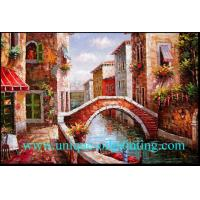 China oil painting, oil painting reproduction, Venice Building oil painting on sale