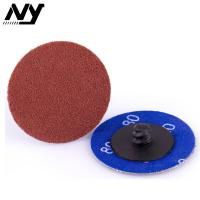 Wholesale Red 2 Inch Roloc Abrasive Disc 100# 120# Aluminum Oxide  High Density Planting from china suppliers
