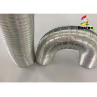 Wholesale House Ventilation Stretchable Semi Rigid Air Conditioning Flexible Aluminum Duct from china suppliers