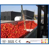 Wholesale Tomato Sauce Making Machine Tomato Paste Production Line With Hot / Cold Break System from china suppliers
